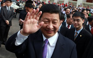 Chinese Vice President Xi Jinping